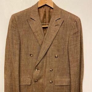 Ralph Lauren Tweed Double-Breasted Sports Coat